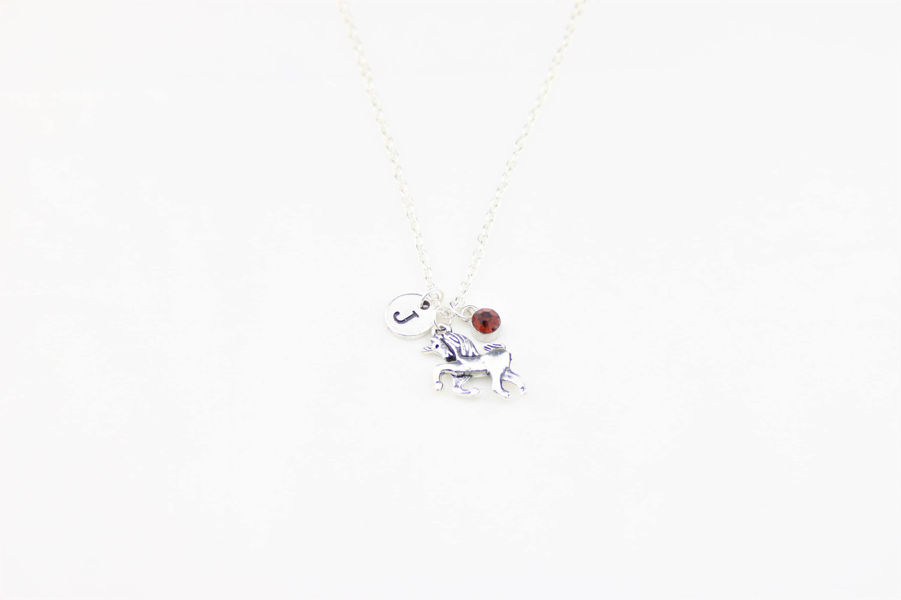 Unicorn Necklace Pony Gift To Niece Birthday Daughter Animal Cousin For Sister Friend