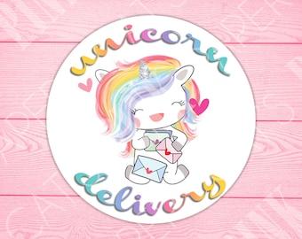 Stickers | Unicorn | Unicorn Delivery