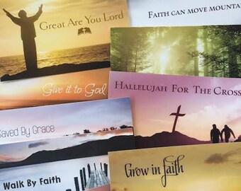 Religious Nature Postcards/Notecards Set