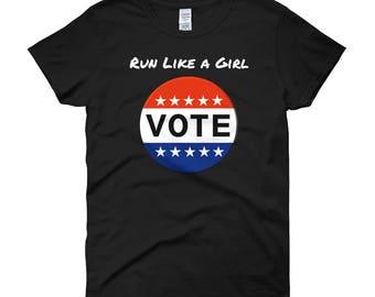 Run Like a Girl Tee