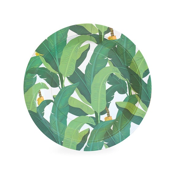Dessert Plates | Tropical Leaf Cake Plates 7\  | Jungle | Safari | Luau | 12 Paper Plates | Party Supplies | The Party Darling from ThePartyDarlingShop on ...  sc 1 st  Etsy Studio & Dessert Plates | Tropical Leaf Cake Plates 7"|570|570|?|en|2|4eed4c5dbb363612a992f2d80728b97b|False|UNLIKELY|0.32714322209358215