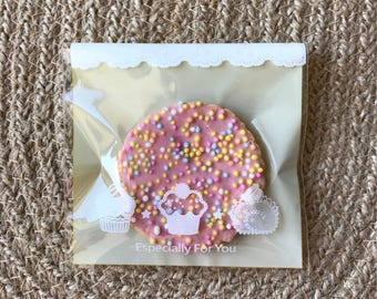 100x Especially For You Plastic Bags Baby Shower Party Treat Sweets Bar Favour Bags Christmas Cookies Chocolate Lolly Commercial Packing