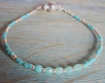 Beautiful Petite Beaded Bracelet