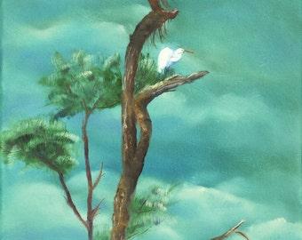 Nesting - Original Oil Painting on Canvas