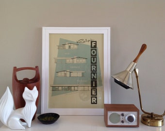 Icons of St. Louis Modernism Print Ralph Fournier