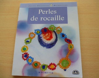 Books DMC Hachette edition small seed beads practices decorations