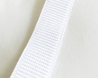 25mm Ribbed Elastic, Woven Elastic, Non Roll Elastic, 25mm Elastic, 1 inch elastic, 25mm non roll elastic, birch elastic