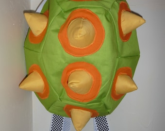 Spiked shell backpack(Canvas)