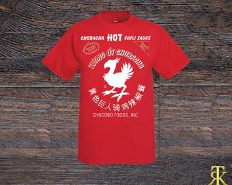 Final Fantasy Inspired Chocobo Sriracha T-shirt