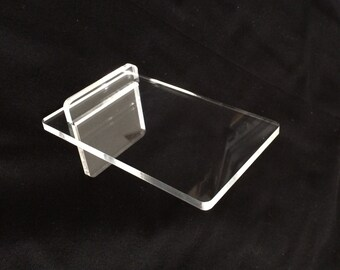 My-Stand: A unique, super stable, transparent acrylic  mobile phone stand! (set of 1)