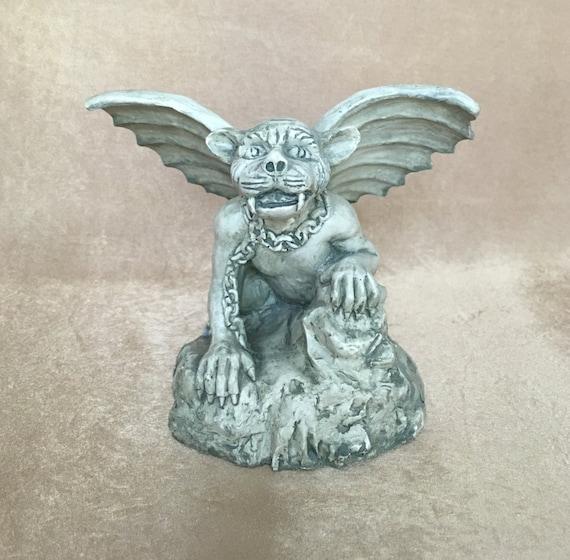 Gargoyle Statue Dog Face Gargoyle Collectible Medieval