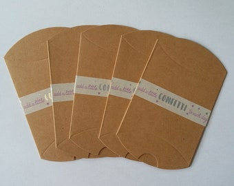 Gift box, pillow envelope, candy box, packing set of 5