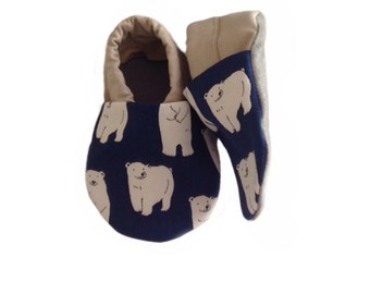 Polar Bear Baby Shoes
