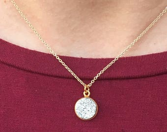 The Trinket Necklace - Crystal Glitter