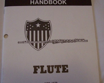 Section Leaders Handbook. Flute. Department of the Army
