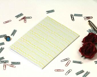 A5 plain paper notebook