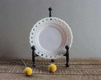 Vintage Westmoreland Milk Glass Plate