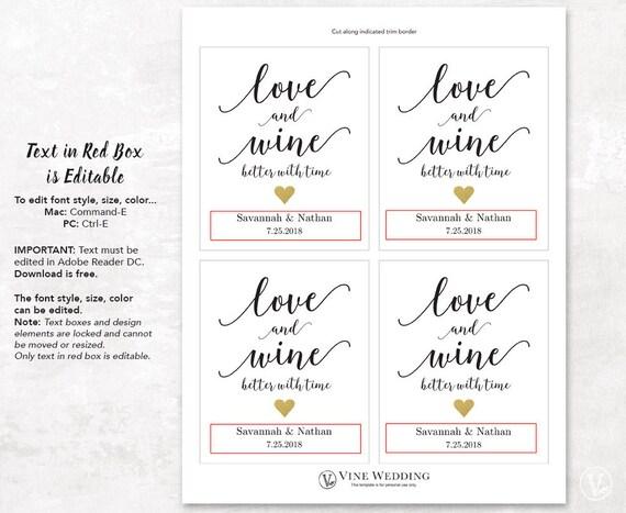 Wine Bottle Labels Printable Wine Bottle Label Template