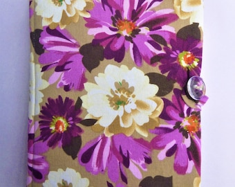 Floral Print Fabric Kindle Paperwhite Case