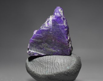 Sugilite Rough Gem  Purple Gemstone Lapidary  Cabbing Wire Wrapping  Excellent Color Wessels Mine