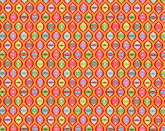 Tula Pink - Tabby Road - Cat Eyes - Strawberry Fields (PWTP095.STRAW) - 1/2 Yard++