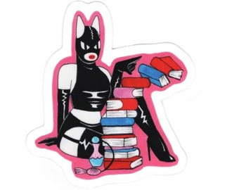 Novice d'Internet x parfum buveur coquine kitty stickers ヾ(*ΦωΦ) ノ