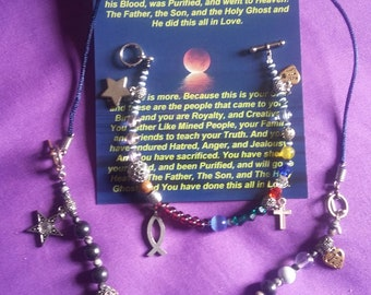 Story of Love Bracelet / Necklace. Tell's the Story of Love to your Family and Friends for generations.
