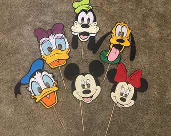 Disney Character Paper Masks Set of 6
