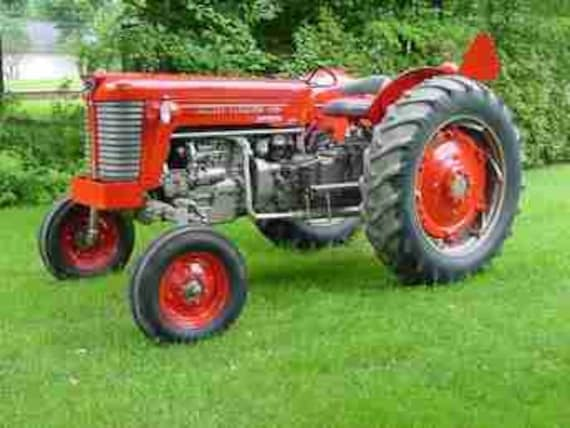 Massey Ferguson 65 Parts Diagram : Massey ferguson mf parts manuals pg for gas diesel