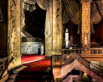 "Neglected Beauty, Fine Art, Chicago Architectural surreal color photography ""Elegance"""