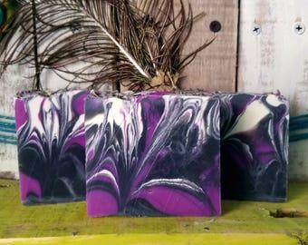 Lavender Tea Tree Charcoal Soap