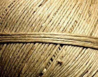 5 Metters - 1.5 - 2 mm Beige Ecru # 1 4558550008190 linen Twine