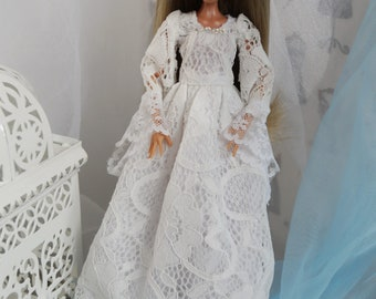 A lace dress for a doll. Monster, Ever doll High