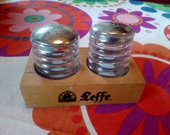 Vintage Leffe Pepper and salt