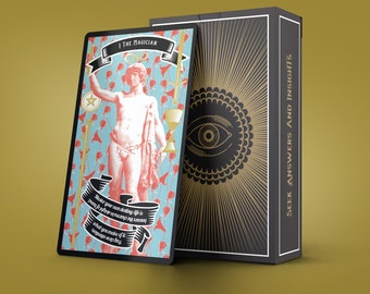 SCRATCH-AND-DENT perfect cards, imperfect box; Madam Clara Sees All 2nd Edition Tarot Deck