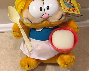 Goldilocks Garfield with tag!