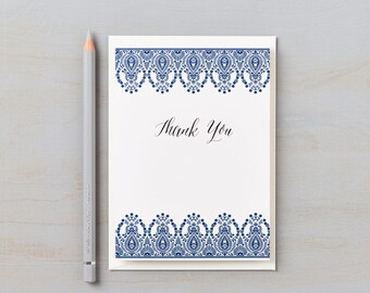 Indian Summer Design Thank You cards