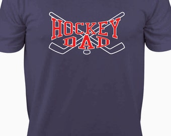 Father's Day Gifts - Hockey Dad T-Shirt for Father's Day - Hockey Dad - Hockey Sticks - Fathers Day