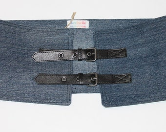 Adjustable Denim Belt