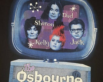 The Osbourne Family RARE Collectors Item t shirt size xl