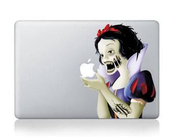 Zombie Snow White Revenge vingl decal, sticker for Apple Macbook Pro 11 inch