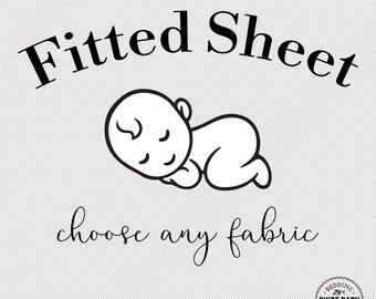 Fitted Crib Sheet. Choose Any Fabric. Crib Sheet. Baby Bedding. Toddler Sheet. Baby Shower Gift. Organic Sheets. Minky Sheets. Custom Sheet.