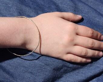Stacking Bangle Bracelet / Bangle Bracelet / Women's Jewelry / Brass Bracelet