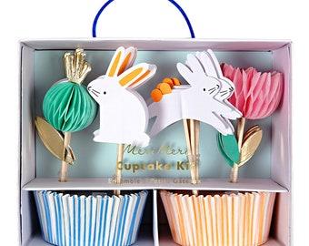 Easter Cupcake Kit, Easter Brunch, Easter Decorations, Easter Baking, Cupcake Toppers, Cupcakes, Easter Bunny, Easter Decor, Easter Basket