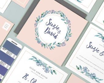 Suzie wedding invitation collection