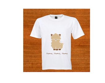 Child T-shirt. Toddler clothing. Toddler tee. Clothing. Llama, llama, llama. Christmas gift. Baby shower gift. Birthday gift. Kids clothing.