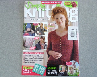 SIMPLY KNITTING Magazine Issue 39 - 17 Patterns