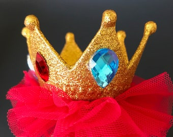 Elena Birthday Crown,Princess Elena Crown,Elena Elastic Headband,Disney Elena crown,Elena of Avalor,Disney Elena Accessory,Elena theme