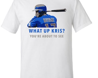 What Up Kris? Kris Bryant Chicago Cubs T-Shirt