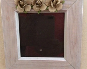 Rustic Double Picture Frames